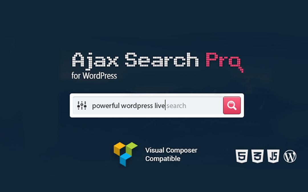 افزونه جستجوی لایو و آجاکس وردپرس